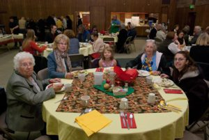 People around table