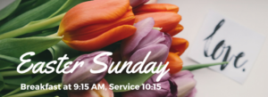 Pictures of Flowers and Easter Service Information