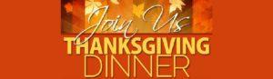 Banner - Join Us for Thanksgiving Dinner