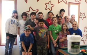 Picture of Youth Group after Painting Youth Room