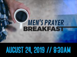 mens prayer breakfast text