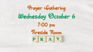 October Prayer Meeting KBC