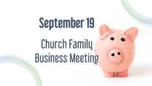 business meeting Kingwood Church